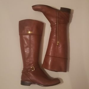 Coach size 8 Micha leather boots